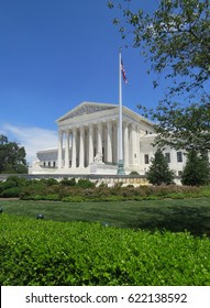 The Supreme Courthouse in Washington, DC.