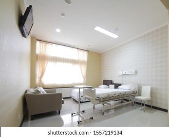 surabaya indonesia june 24 2014 inpatient room royal hospital surabaya