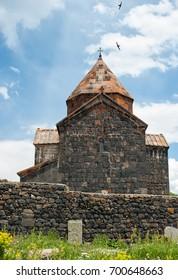 Surb Arakelots church in Sevan Monastery, Armenia