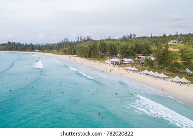Surf from Above at Tip Of Borneo, Kudat Sabah, Malaysia.