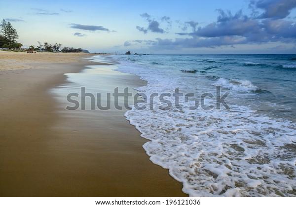Surf beach Gold Coast