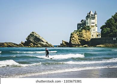 Surf at Biarritz