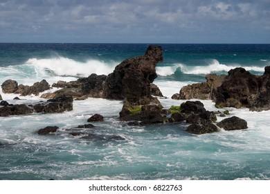 Surf at Ho'okipa