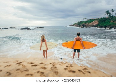 Surf love story. Surf family