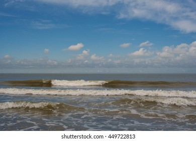 Surf on the North Sea