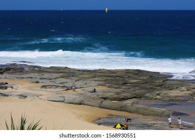 Surf at Point Cartwright Queensland