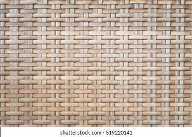 Surface of Brown Wicker texture, Dry bamboo wall for background