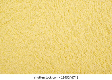 Surface coated with the corn flour