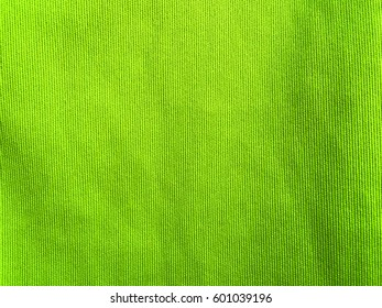 Surface of green microfiber cloth.