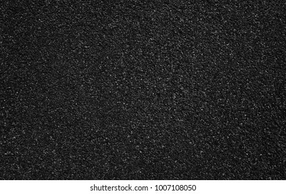 Surface grunge rough of asphalt, Dark grey grainy road, Texture Background, Top view