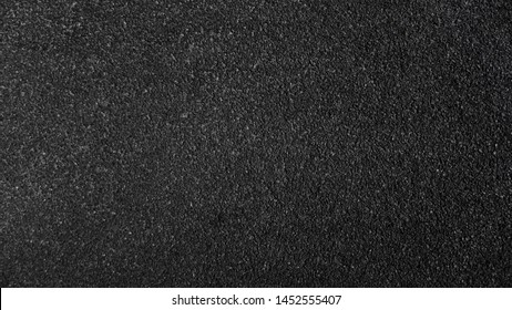 Surface grunge rough of asphalt, Seamless tarmac dark grey grainy road, Texture Background, Top view