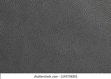 Surface of leatherette black color for textured background.