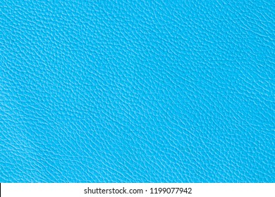 Surface of leatherette blue color for textured background.