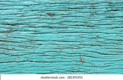 The surface of the old wood blue