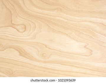 The surface of the plywood is beautifully patterned