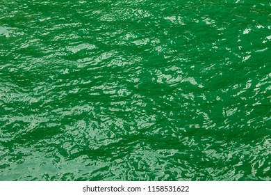Surface of River water