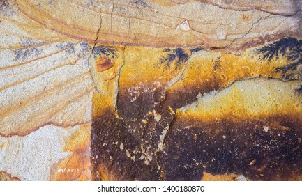 Surface of the rock. Natural background.