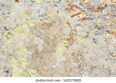 Surface of A Rusty Stone