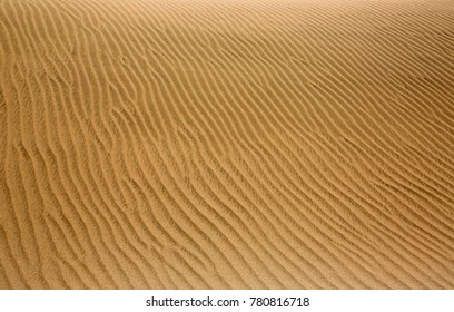 Surface of sand dune - Te Paki Reserve, New Zealand