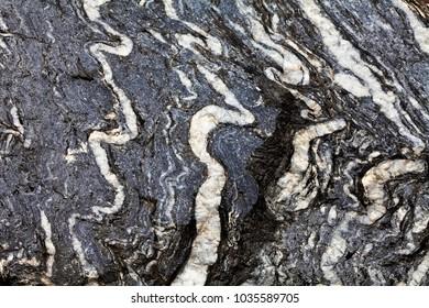 Surface of stone Gneiss,Jangsu,Jeonbuk,Daeyu mine