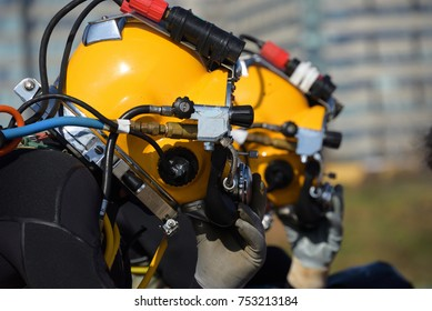surface supplied commercial diver