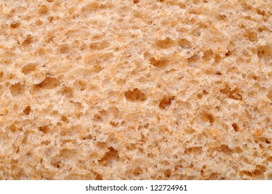 surface of whole wheat bread for background uses