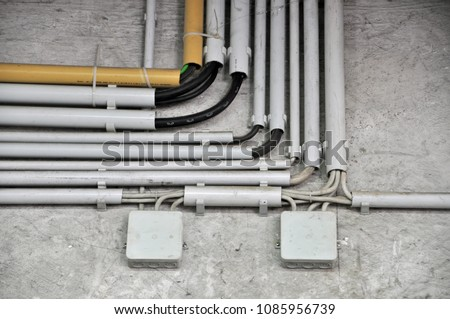 Excellent Surfacemounted Electrical Wiring Cable Ducts Distribution Stock Wiring 101 Tzicihahutechinfo