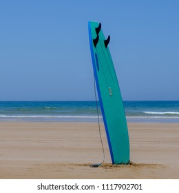 Surfboard in Agadir beach