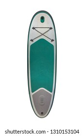 surfboard isolated on white background