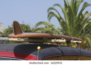 Surfboard on Car