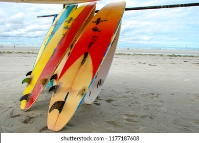 Surfboards in Jericoacoara