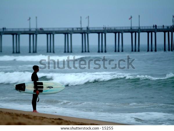 Surfer - Huntington Beach, California
