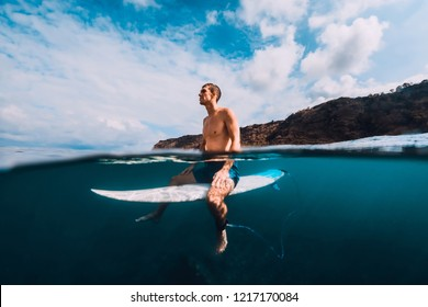 Sitting On Surfboard Images Stock Photos Vectors Shutterstock