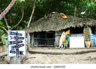 Surfers hut