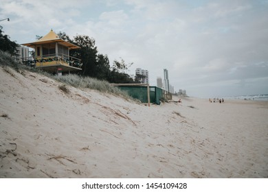 Surfer's Paradise beach in Goldcoast