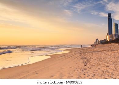 surfers paradise beach (qld, australia)