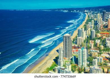 Surfer's Paradise, Gold Coast, Queensland, Australia