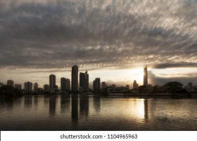 SURFERS PARADISE - NOV 27: Sunrise view of Surfers Paradise with Q1 building, one of the most popular holiday destinations in Australia. November 27, 2016 Surfers Paradise Australia.