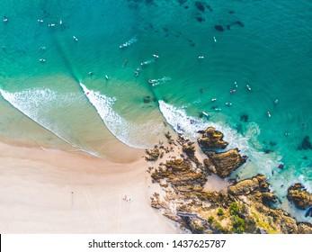 Surfing Aerial Noosa Byron Gold Coast Sunshine Coast
