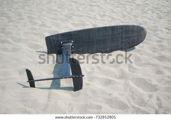 surfing foil board