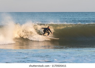 Surfing in New Jersey, United States