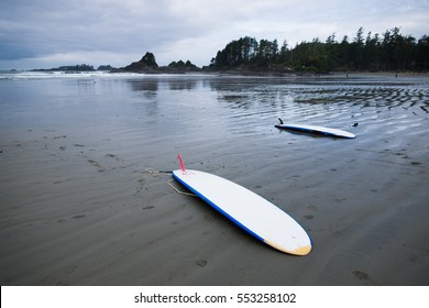 Surfing in Tofino, British Columbia, Canada