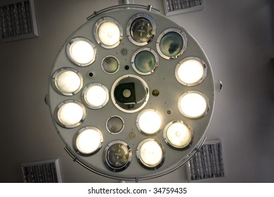 surgical lamp in operating-room