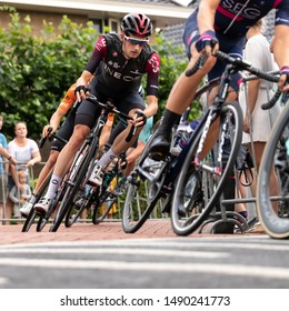 Surhuisterveen/The Netherlands - July 30th 2019: Wout Poels, professional cyclist of team Ineos, is taking part in the criterium of Surhuisterveen