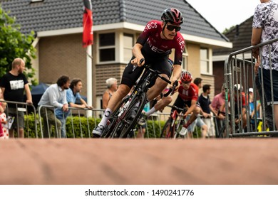 Surhuisterveen/The Netherlands - July 30th 2019: Dylan van Baarle, professional cyclist of team Ineos, is taking part in the criterium of Surhuisterveen