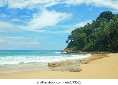 Surin Beach Phuket, this beach is another famous beach of Phuket. Both Thai and foreign tourists come to relax and swim.