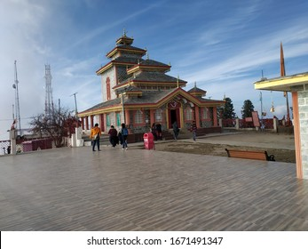 Surkanda Devi Temple is the highest point in the area, located at a height of 3021 mt on the top of a hill. Situated at an elevation of 3, 030 m above sea level near the village Kaddukhal, the temple