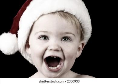 Surprise Santa Baby