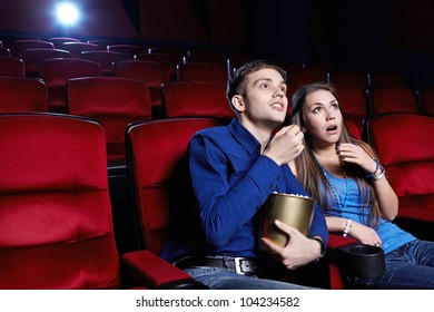 Surprised a couple at the cinema