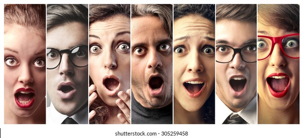 Surprised Face Images, Stock Photos & Vectors | Shutterstock